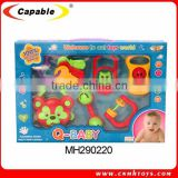 Non-toxic plastic baby rattles toys for kids 8009                                                                         Quality Choice