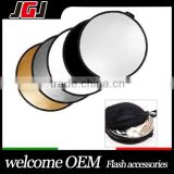 5-in-1 Handle 43'' 110cm Round Reflector For Photography Photo Studio Lighting and Outdoor Lighting