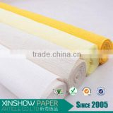 Double Sided Artificial flower crepe paper roll material for flower arrangement                                                                         Quality Choice