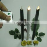 White Taper Smart Plastic Electronic Taper LED Candle