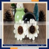 New and fashion home luxury aroma scented sunflower rattan sticks reed diffuser