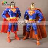 Life size super hero cape figures superman statue