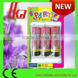 hot selling spring party popper, streamer party cannon, confetti party popper