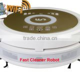 Smartphone WIFI APP Control robot portable vacuum cleaner QQ6KDM updated with Air purifier,3350MAH Lithium battery