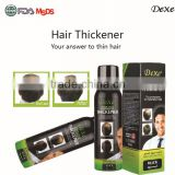 grey hair thickening fiber with high profit margin hot sale product of hair thickener spray