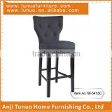 Bar chair,produced in Anji,pub furniture,wood frame and leg,TB-5415C