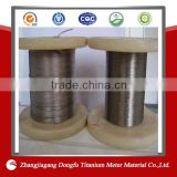 titanium wire rope for glasses use