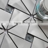 sliver 300x300 building tiles aluminum mosaic tiles popular in India