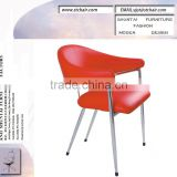 US leisure chairs /modern PU leather leisure chair /soft comfortable chiar /living room chair /waiting room steel chair