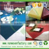 Disposable table cloth can be printed, the design, fashion, special non-woven fabric cloth