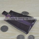 13001 Rhombus style fashion unique coin purse hook cions leather key wallet