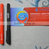 promotional gel ink pen with pull out banner pen