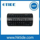 Gtide Wireless Portable Mini Rechargeable 54 Keys Bluetooth 3.0 Keyboard and Power bank Combo for iPhone/Android Smartphone