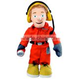 factory direct fireman sam toys.custom plush toys