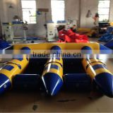 excellent interesting flying inflatable boat for sale, high quality inflatable flyiing fish boat for adults