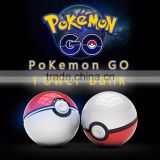 New Arrival Pokemon Go Ball Power Bank 10000mAh Charger With LED Light for Pokemon Go AR Games