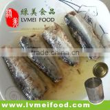 Canned Sardines in Vegetables Oil/ Factory Price Canned Sardines/Canned Fish in Oil
