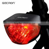 Gaciron Usb Rechargeable Bicycle LED Safty Light Brake Stop Indicator Bike Rear Light
