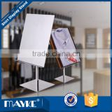 Store and shops supply showcase---Electroplating Stainless steel Shirt display rack,Shirt Display Rack, Apparel display stand