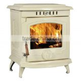 classic cast iron wood burning stove, freestanding fireplace, cheap multifuel room heater