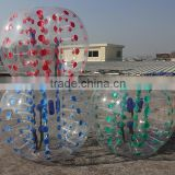 Hola color dot bubble ball/bumper ball/buddy bumper ball for adult