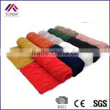Hot sale large women knitting infinity scarf winter Thicker muffler scarves Brand solid color women's scarf