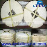 Cotton and sisal cloth buffing wheel for polishing stainless steel/metal /copper matt finishing
