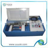 Multifunction laser polymer stamp machine