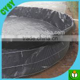 Supply woven fabric HDPE Water Tank Liner /black lining for fish farm pond/plastic geomembrane liners