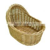 Honey Wicker Baby Shower Maternity Gift Storage Display Basket
