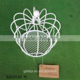 Mini metal crown basket for decoration