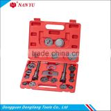 21PCS Caliper Disc Brake Wind Back Pad Piston Compressor Tool Kit For WE-B1013