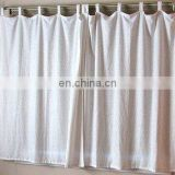 linen curtain classic and simple style