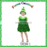 TZ87364-1Fashion New Style Girls Christmas Tree Dress Costumes