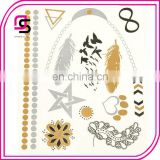 New design Non-toxic Metallic Tattoo