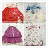 used clothes texas bulk wholesale kids clothing children cotton/silk dress