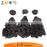 Double Drawn Brazilian Virgin Human Weft Extensions Fumi Hair