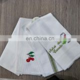 embroidery dish colth kitchen tea towel