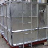 100 CBM Hot dip galvanized steel panels assembled water tank for drinking water storage