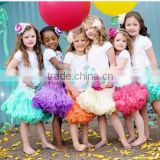 Wholesale kids latest skirt design pictures,fancy skirt top designs led light kids tutu dress