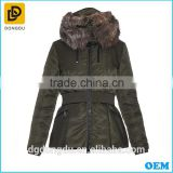 Custom winter coats for girls pretty lady clothing women fashion coats 2016 women's clothes
