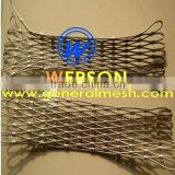 stainless steel wire deck netting , rope mesh ,stainless steel stair filling mesh ,big bird netting / mesh | generalmesh
