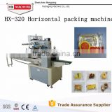 Flow Pack Bread Chocolate Soap Biscuit Horizontal Flow Wrapping Machine