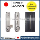 CAMBODIA HOT-SELLING DIGITAL DOOR LOCK MADE IN JAPAN WITH RESETABLE PASS WORD AND EASY TO INSTALL .