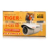 good quality full HD 1080P 2.0MP bullet camera with fixed lens 4mm IR led 36pcs China supplier