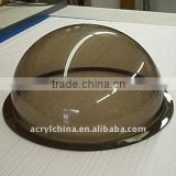 perspex dome / hemiphere-shaped domes / perspex round cover for bread&cake&pastry cover
