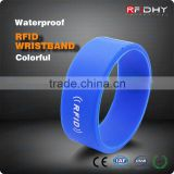 Printed Silicone Wristbands RFID Watch for Birthdays