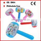 Small inflatable hammer toys for kids with custom printing and color No toxic free sample