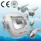 LUNA V Slimming Vacuum Fat Loss Machine Tattoo Laser Removal Machine RF Cavitation Machine Ultrasound Cavitation For Cellulite Q Switched Laser Machine
