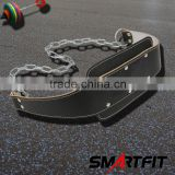 crossfit leather weight lifting dipping belt pull up belt
